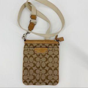 Coach classic monogram crossbody purse